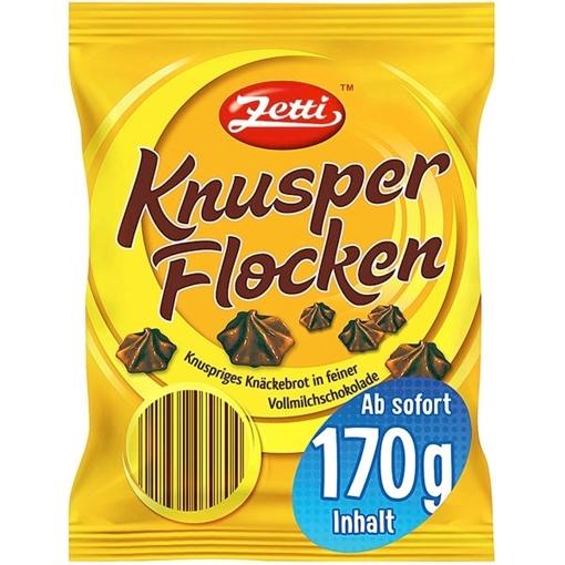 Billede af Zetti Knusperflocken Vollmilchschokolade 170 g.
