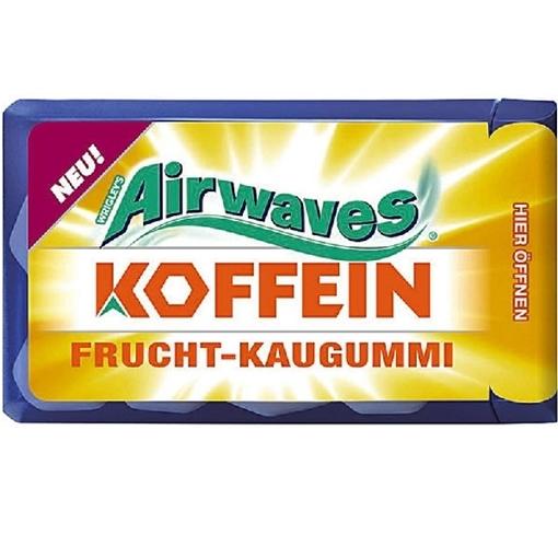 Billede af Wrigley's Airwaves Koffein Frucht 14 g.