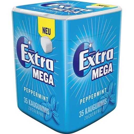 Billede af Wrigley's Extra Mega Peppermint 95 g.