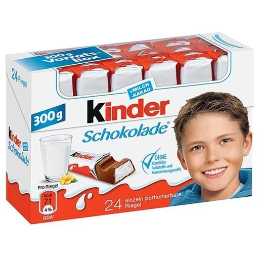 Billede af Ferrero Kinder Schokolade 300 g.