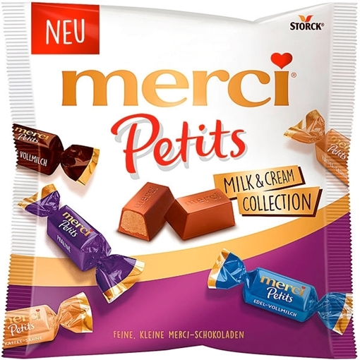 Billede af Merci Petits Milk & Cream Collection 125 g.