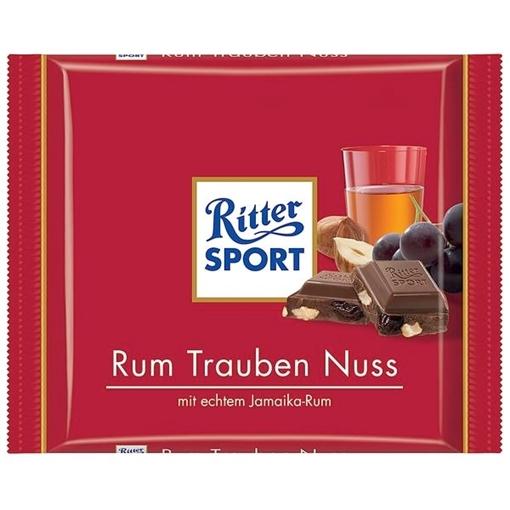 Billede af Ritter Sport Rum-Trauben-Nuss 100 g.