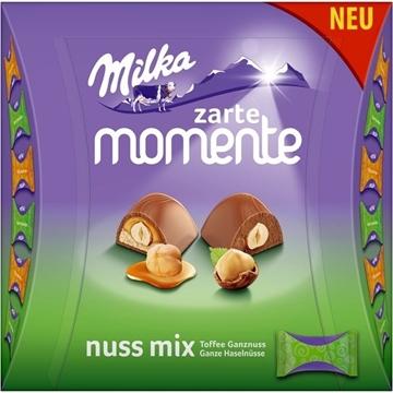 Billede af Milka Zarte Momente Nuss Mix 169 g.