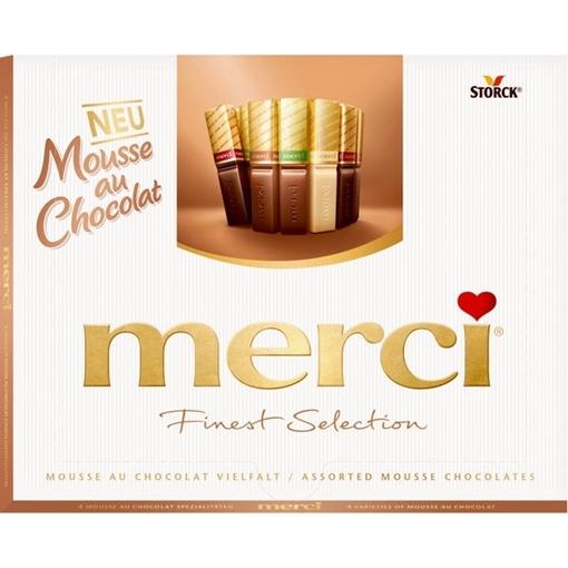 Billede af Merci Mousse au Chocolat Vielfalt 210 g.