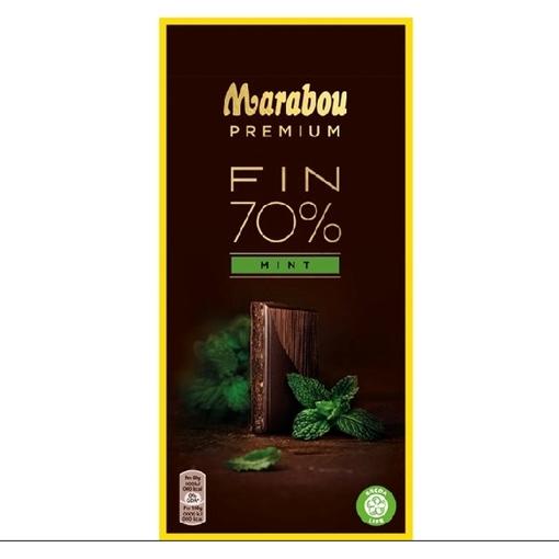 Billede af Marabou Premium Dark Mint 100 g