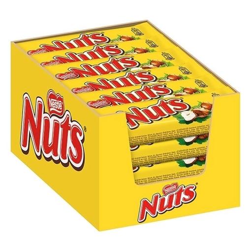 Billede af Nuts Haselnuss  24 x 42 g.