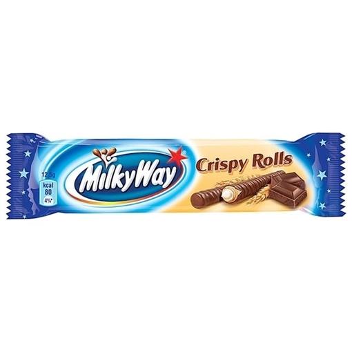 Billede af Milky Way Crispy Rolls 2er 24 x 25 g.