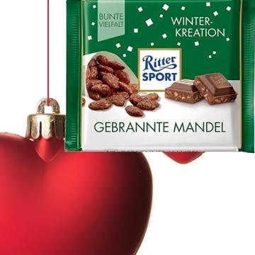 Billede af Ritter Sport Brændte Mandler 100 g.