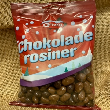 Billede af Carletti Chokoladerosiner 300 g.