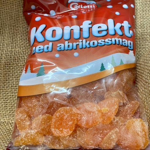 Billede af Carletti konfekt med Abrikossmag 450 g,