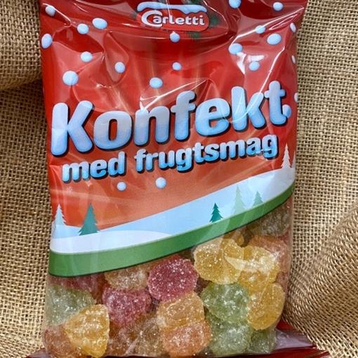 Billede af Carletti konfekt med frugtsmag 450 g,