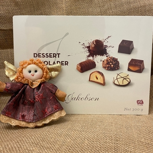 Billede af Jakobsen Dessert Chokolader 300 g.Best before 11.01.2021