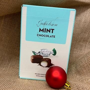 Billede af Jakobsen Mint Chokolade 125 g.