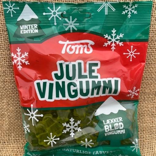 Billede af Toms Jule Vingummi 200 g.