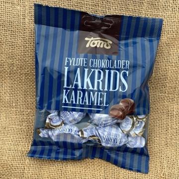 Billede af Toms Lakrids Karamel 107 g.