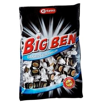 Billede af Carletti Big Ben Lakrids 400 g.