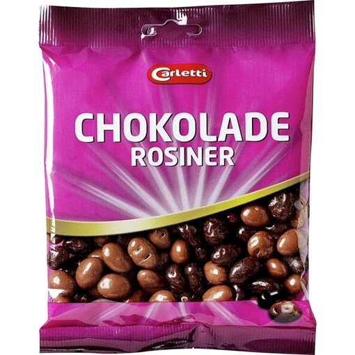 Billede af Carletti Chokoladerosiner 200 g.